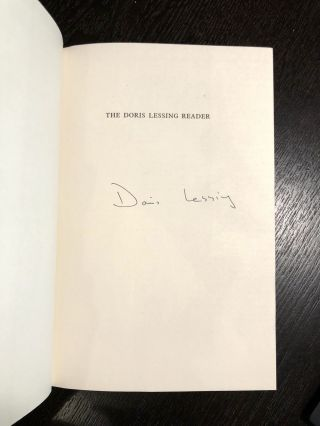 The Doris Lessing Reader