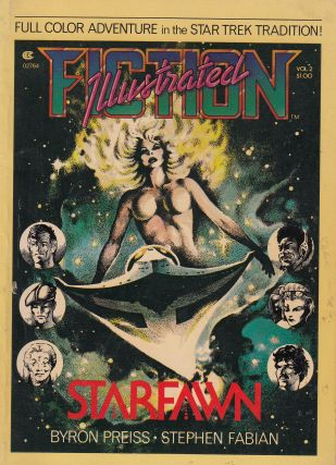 Fiction Illustrated Volume 2: Starfawn. Stephen Fabian Byron Preiss