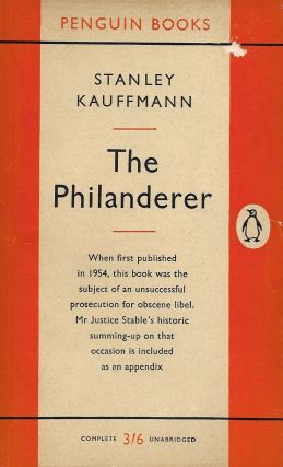 The Philanderer. Stanley Kauffmann