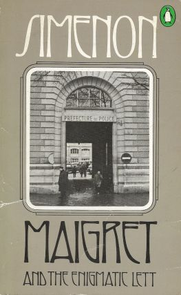 Maigret and the Enigmatic Lett. Georges Simenon.