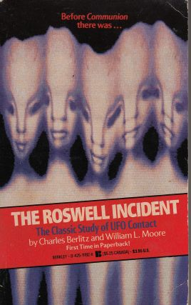The Roswell Incident. William L. Moore Charles Berlits.