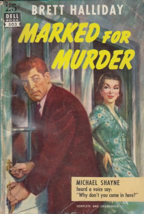 Marked for Murder. Brett Halliday