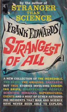 Strangest of All. Frank Edwards.
