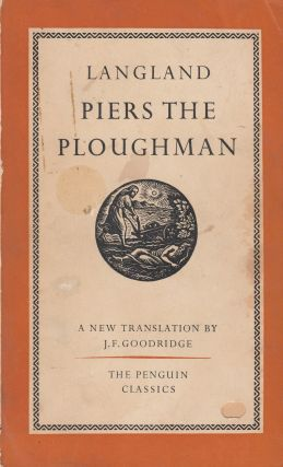 Piers the Ploughman. William Langland