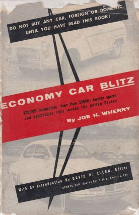 Economy Car Blitz. Joe H. Wherry
