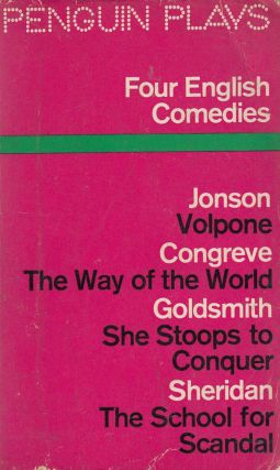 Four English Comedies of the 17th and 18th Centuries. J M. Morrell