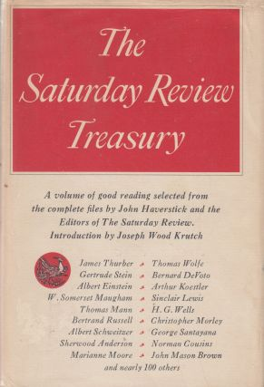 The Saturday Review Treasury. The John Haverstick, Joseph Wood Krutch of The Saturday Review, intro