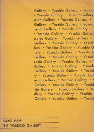 The Yoseido Gallery: Catalog, No. 4 (1966). Ronald G. Robertson Yoseido Gallery, intro