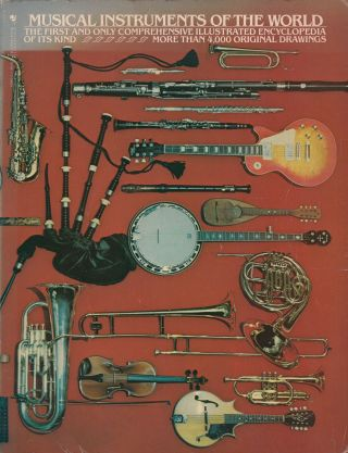Musical Instruments of the World. Ruth Midgley Diagram Group