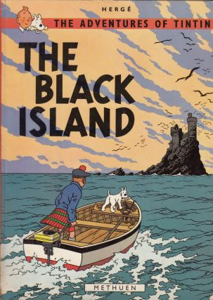 The Adventures of Tintin: The Black Island. Herge