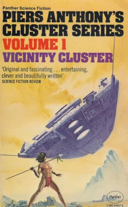 Vicinity Cluster (Volume 1 of the Cluster Series). Piers Anthony