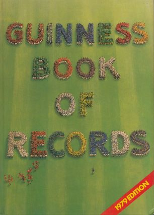 Guinness Book of Records Edition 25. Stan Greenberg Norris McWhirter
