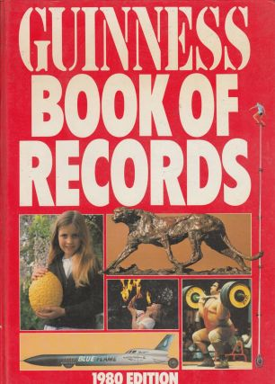 Guinness Book of Records Edition 26. Stan Greenberg Norris McWhirter