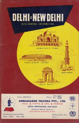 Delhi & New Delhi: Guide for Businessmen and Visitors. Indian Tourist Publications