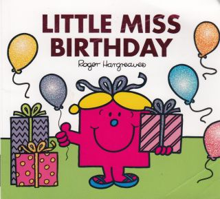Little Miss Birthday. Adam Hargreaves