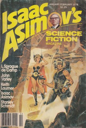 Isaac Asimov's Science Fiction Magazine, January-February 1978 (Vol. 2 No. 1)