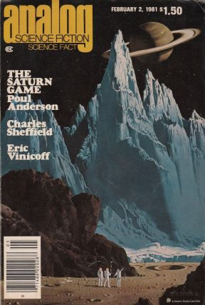 Analog Science Fiction / Science Fact Magazine, February 2, 1981