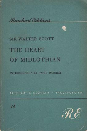 The Heart of Midlothian. David Daiches Sir Walter Scott, intro