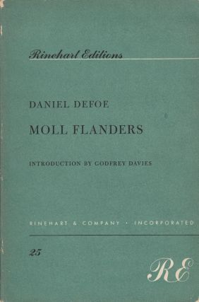 Moll Flanders (The Fortunes and Misfortunes of the Famous Moll Flanders). Godfrey Davies Daniel...