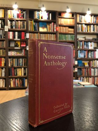 A Nonsense Anthology. Carolyn Wells.