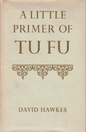 A Little Primer of Tufu. David Hawkes