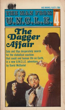 The Man From U.N.C.L.E. Number 4: The Dagger Affair. David McDaniel