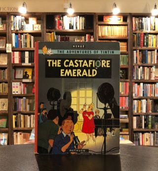The Adventures of Tintin: The Castafiore Emerald. Herge