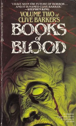 Books of Blood (Volume Two). Clive Barker