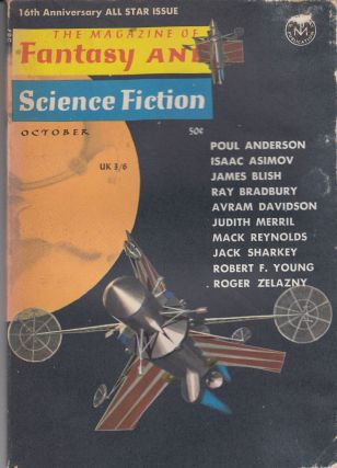 The Magazine of Fantasy and Science Fiction Vol. 29, No.4 - October 1965. Isaac Asimov Joseph W....