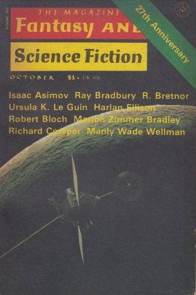 The Magazine of Fantasy and Science Fiction Vol. 51, No. 4 - October 1976. Isaac Asimov Edward L....