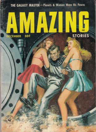 Amazing Stories Vol. 30. No.12 - December 1956. Hal Annas