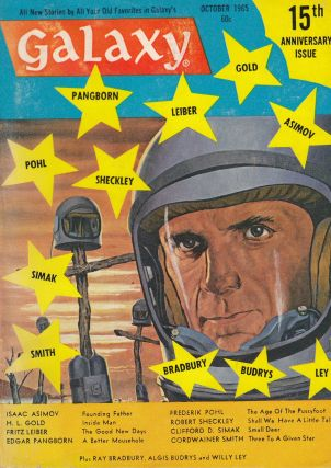 Galaxy Vol.24, No.1 - October 1965. Frederik Pohl