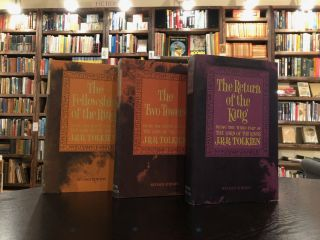 The Lord of the Rings: The Fellowship of the Ring, The Two Towers, Return of the King (3 Volume Boxed Set)