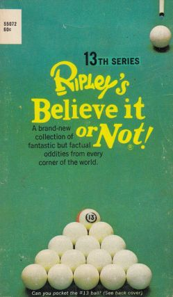 Ripley's Believe It or Not! 13th Series. Norbert Pearlroth, preface.