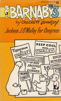 Barnaby #3: Jackeen J. O'Malley for Congress. Crockett Johnson