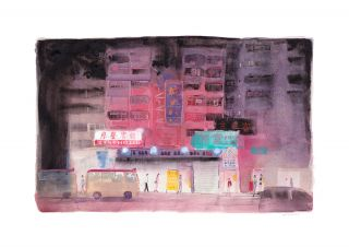 Portland Street at Night (砵蘭街之夜). Don Mak @ Don Mak, Co
