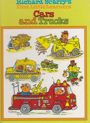 Richard Scarry's First Little Learners Cars and Trucks. Richard Scarry