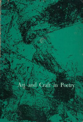 Art and Craft in Poetry. Elizabeth Baymore Lape James T. Lape.