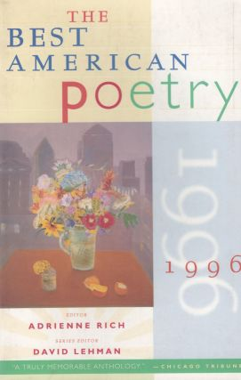 The Best American Poetry 1996 (Scribner Paperback Poetry). Adrienne Rich