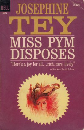 Miss Pym Disposes. Josephine Tey